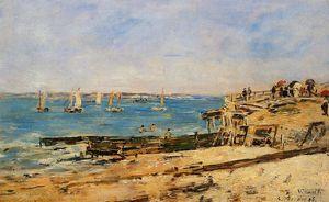 Villerville, the Shore