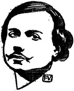 Portrait of communard Auguste Vermorel