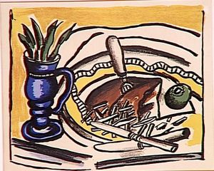 Still Life with Blue Vase (the roosbeef)