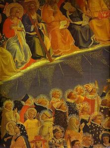 The Last Judgement. Detail: The Blessed