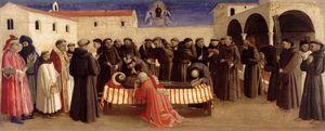 Lamentation over St Francis