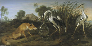 Sable of the Fox and the Heron