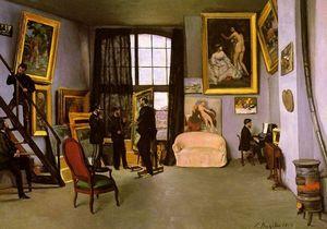 The Artist's Studio, Rue de la Condamine
