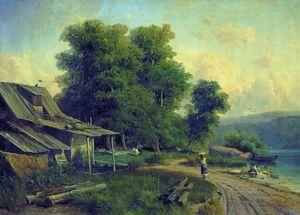 Landscape. Pargolovo