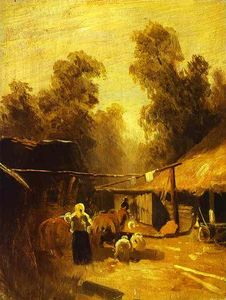 Morning in a Village