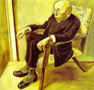 Portrait of the Writer Max Herrmann Neisse