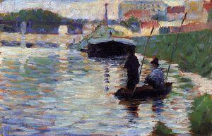 The Bridge - View of the Seine