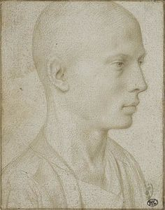 Study of a Bust of Yyoung Boy with Shaved Head