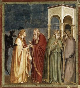 Judas Receiving Payment for his Betrayal