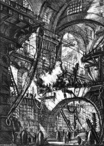 The Prisons (plate V)