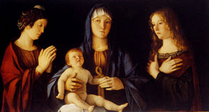 Virgin and Child with St. Catherine and Mary Magdalene