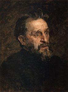 Portrait of I. Repin (study)