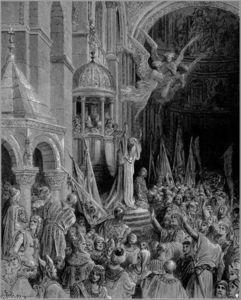 Dandolo, Doge of Venice, Preaching the Crusade