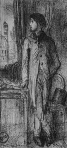 Portrait of Degas in Florence