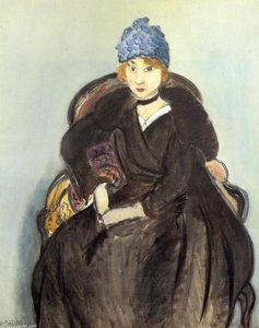 Marguerite Wearing a Hat