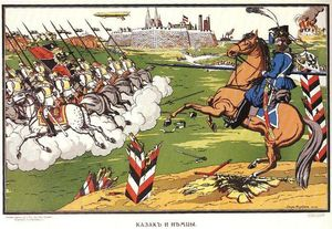 Cossack and the Germans