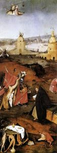 Triptych of Temptation of St Anthony (detail)