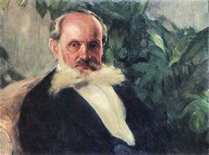 Portrait of Emmanuil Hrabar (painter's father)
