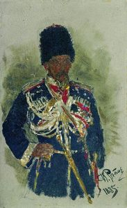 General in the form of royal guards. P.A. Cherevin.