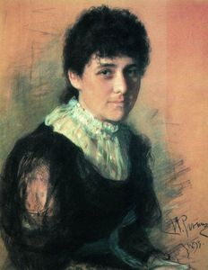 Portrait of the sculptor E.P.Tarhanova-Antokolskaya