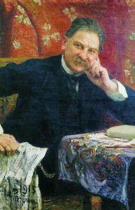 Portrait of J.M. Vengerov