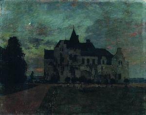 Twilight. A castle.