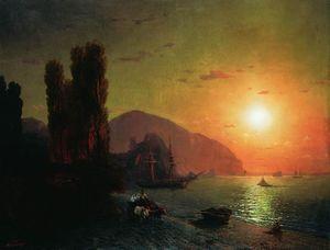 Crimean view. Ayu-Dag