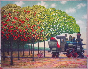 Strawberries railway