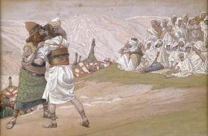 The Meeting of Esau and Jacob