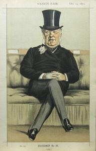 Caricature of Henry William Eaton M.P.
