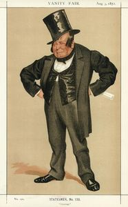 Caricature of James Delahunty M.P.