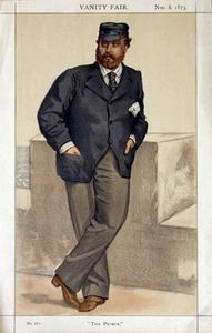 Caricature of Edward, Prince of Wales
