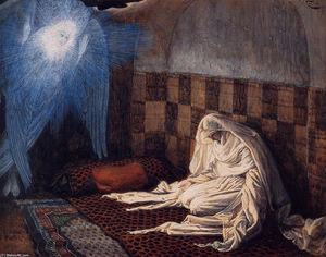 Annunciation, illustration for 'The Life of Christ'