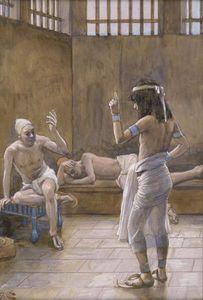 Joseph Interprets the Dreams While In Prison