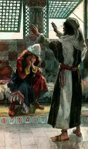 Nathan Rebukes David, as in 2 Samuel 120