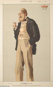 Statesmen No.930 Caricature of The Duke of Rutland