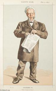 Statesmen No.940 Caricature of Alderman Andrew Lusk M.P.