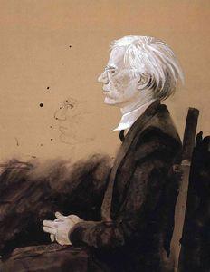 Andy Warhol - Facing Left
