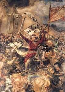 Battle of Grunwald, Witold (detail)