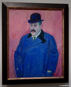 Portrait of an art collector Beffe