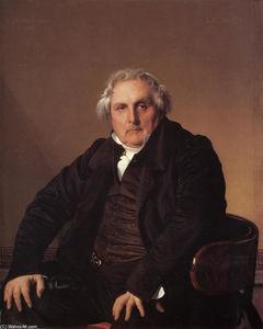 Portrait of Louis-Francois Bertin