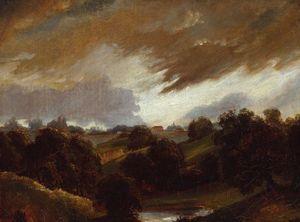 Hampstead Stormy Sky