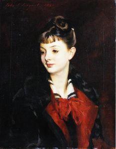 Portrait of Mademoiselle Suzanne Poirson