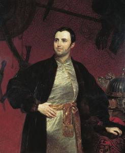 Portrait of M. A. Obolensky
