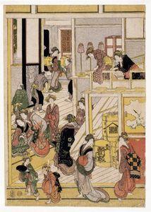 New Year's Days of the Teahouse Ogi-ya