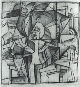 Cubo-Futurist Composition