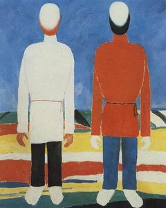 Two Male Figures