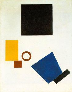 Suprematism. Self Portrait in two dimensions