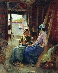 Two Breton Women