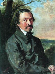 Portrait of Nikolay Nekrasov